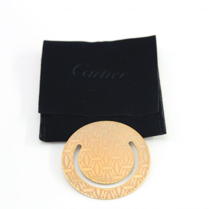 Cartier book marker - Posh Bags London