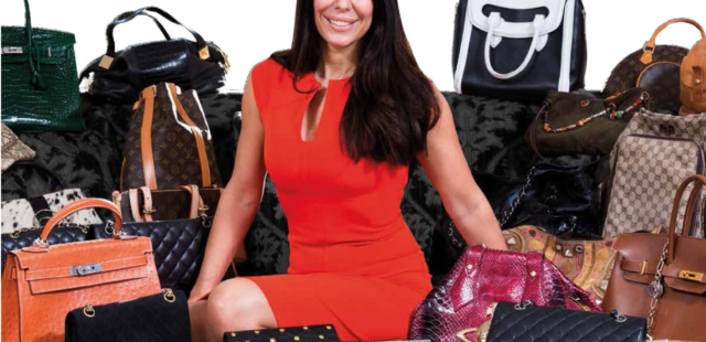 Posh Pawn's Claudia Valentin, Queen Of The Handbags