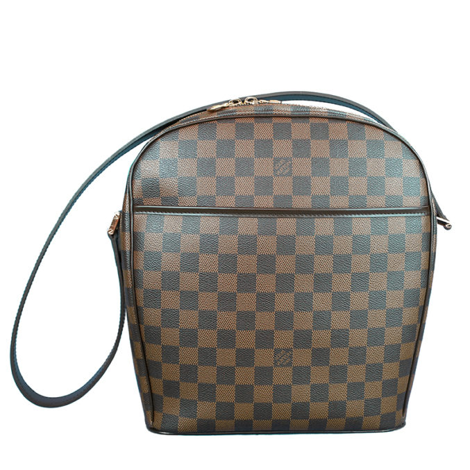 Louis-Vuitton-Brown-Damier-Canvas-Messenger-Bag-1