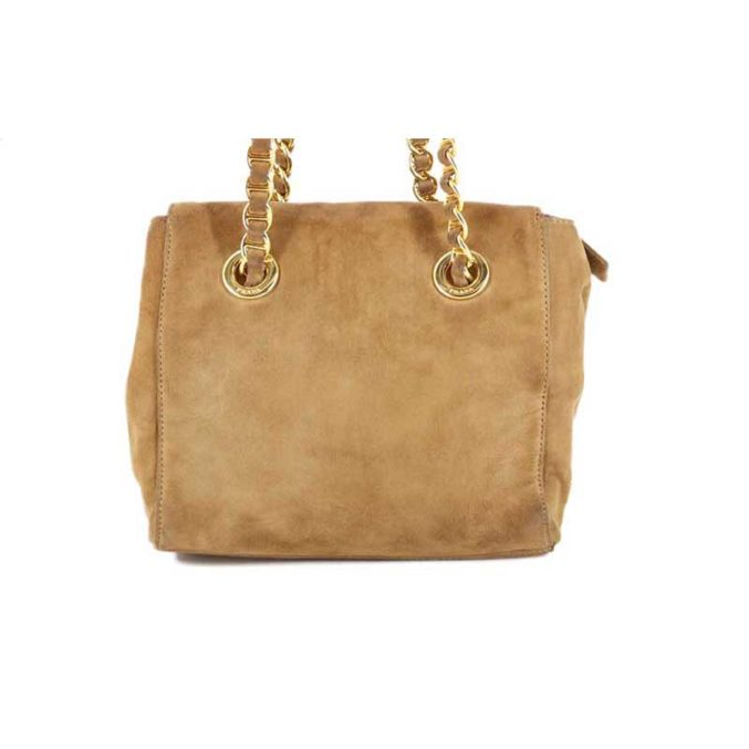Brown Suede Prada Bag - Posh Bags London