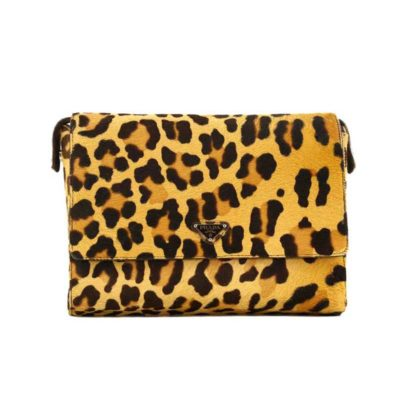 Prada Leopard Skin Print Bag - Posh Bags London